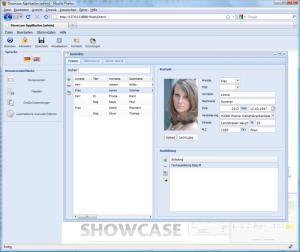 WebUI contacts