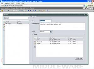 Oracle Forms Nimbus LaF