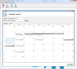 JVx + JavaFX + Vaadin + Exchange