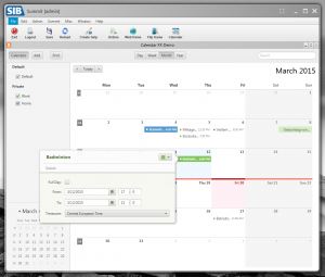 JVx, JavaFX UI and CalendarFX