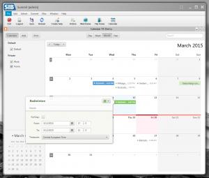 JVx, JavaFX UI and CalendarFX