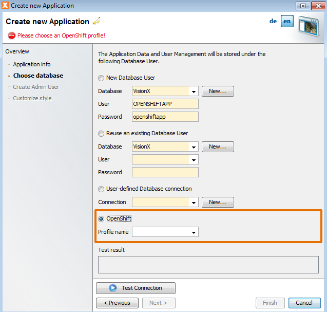 how to stop openshift application