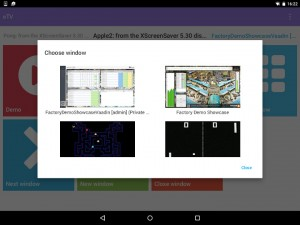 eTV Window view