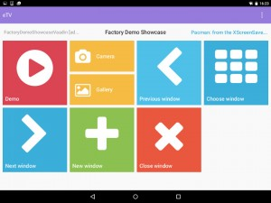 eTV Dashboard