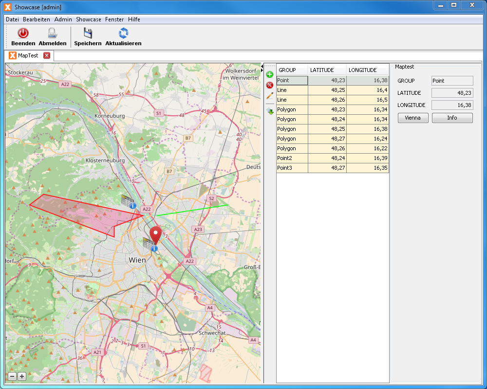 Blog SIB Visions Map component for JVx applications