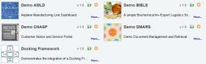Demo applications