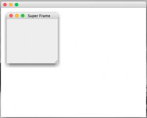 JInternalFrame without border problem
