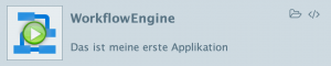New options for an application